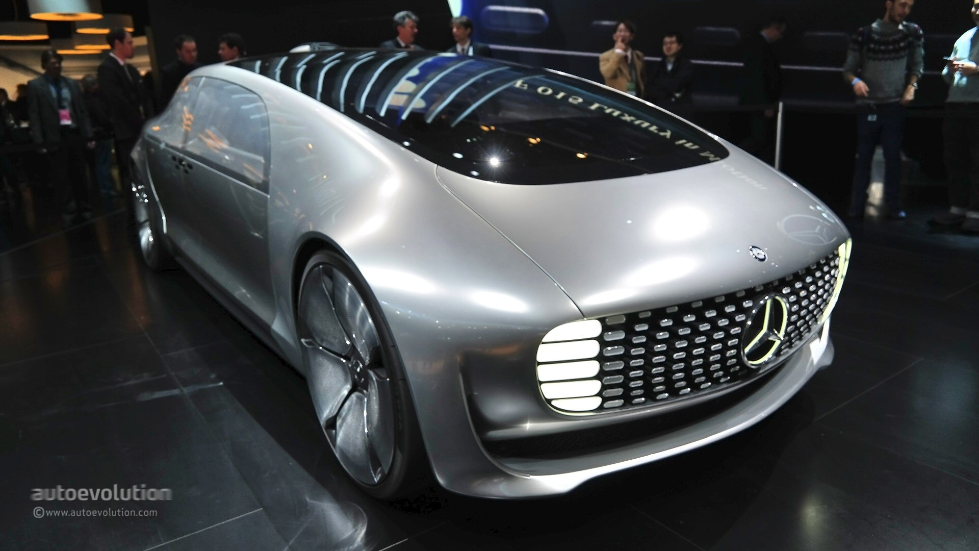 Mercedes Benz F Concept Previews The Future At Naias Live Photos