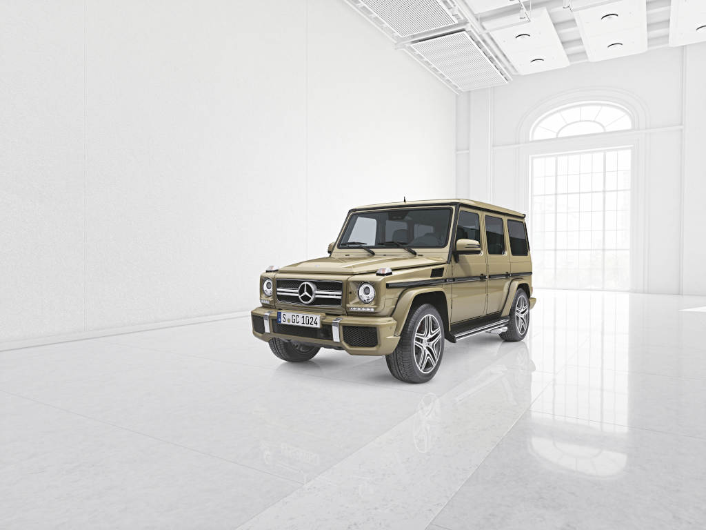 Mercedes benz g class gets official personalization for Mercedes benz options