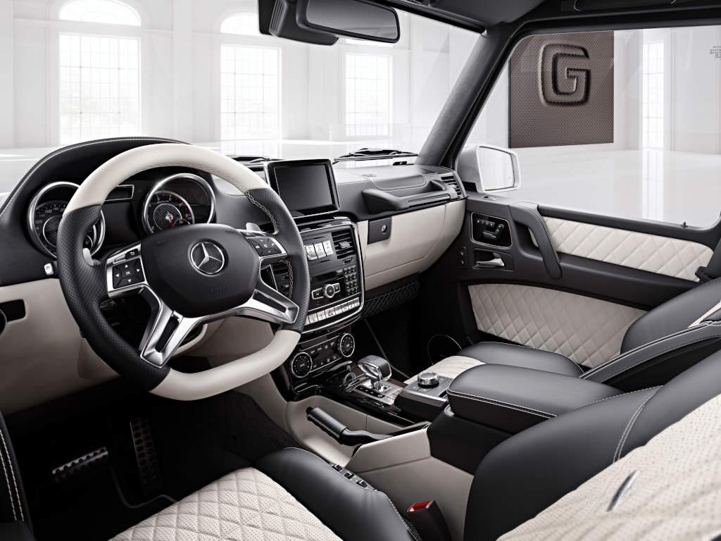 Mercedes Benz G Class Gets Official Personalization