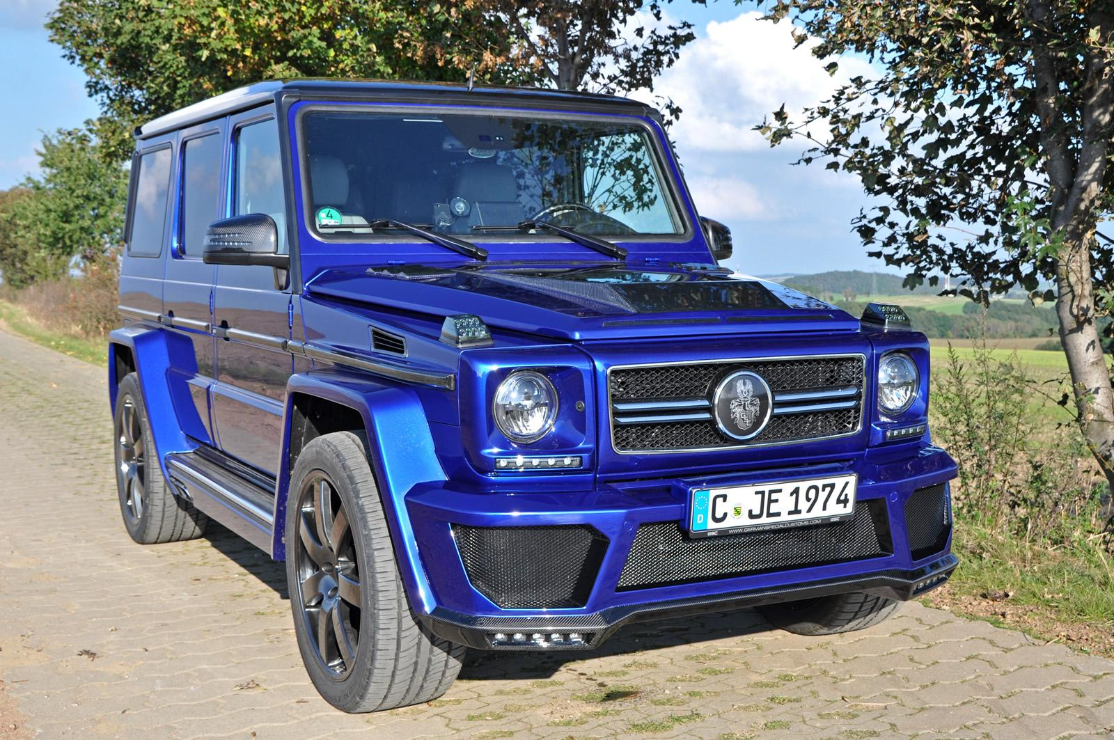 Mercedes-Benz G-Class with V8 Diesel Power Tuned by German Special