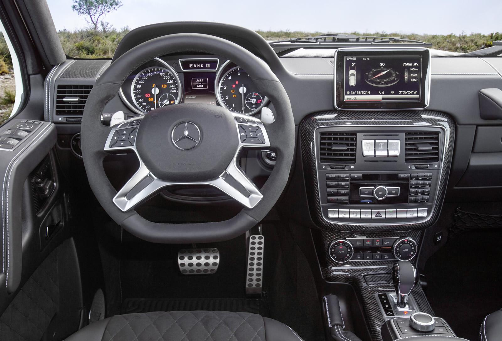 mercedes benz g500 4x4 price announced its more than a g63 amg autoevolution - Mercedes G Interior 2015