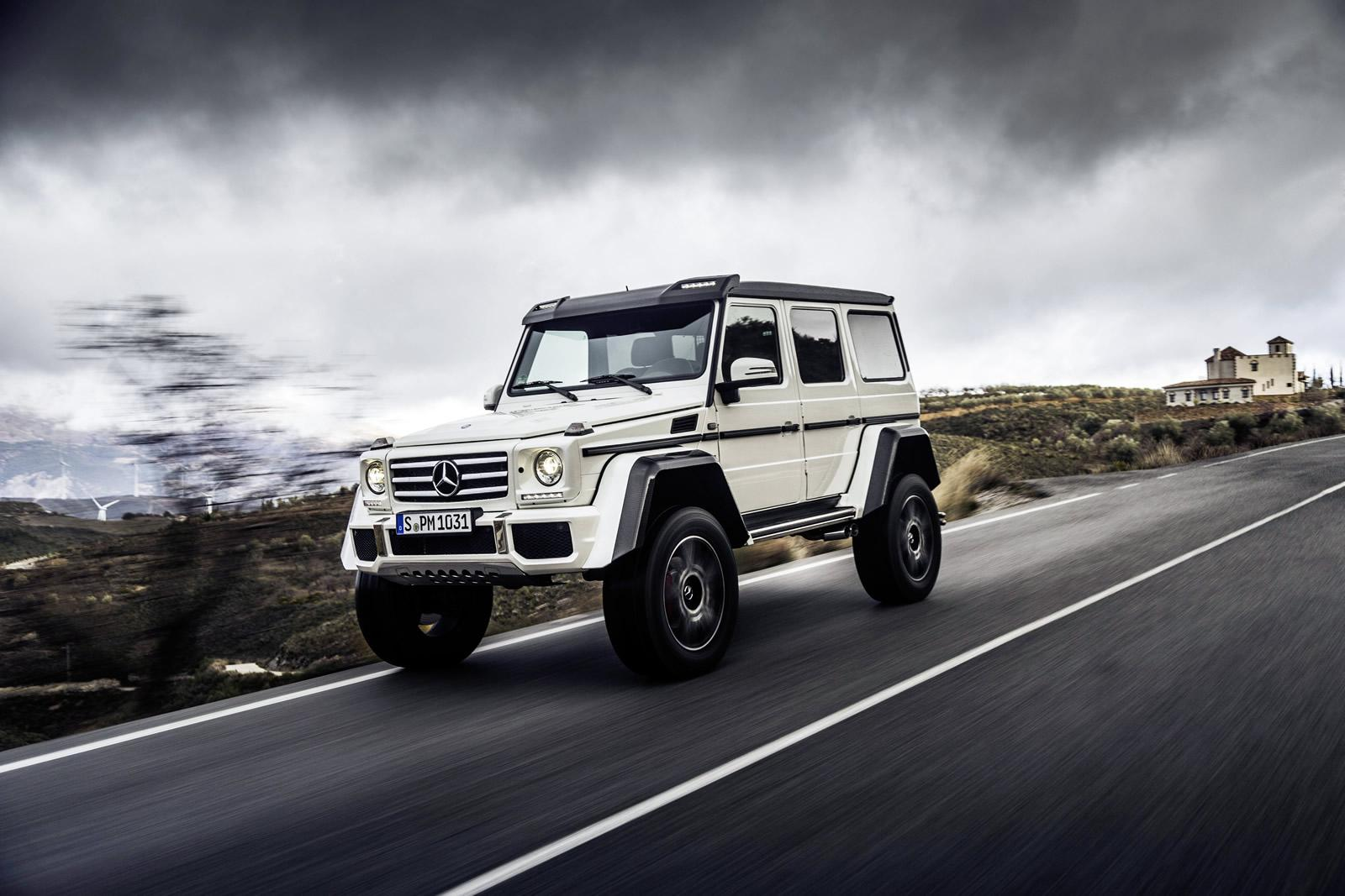 Mercedes benz g500 4x4 price announced it s more than a for Mercedes benz g 500
