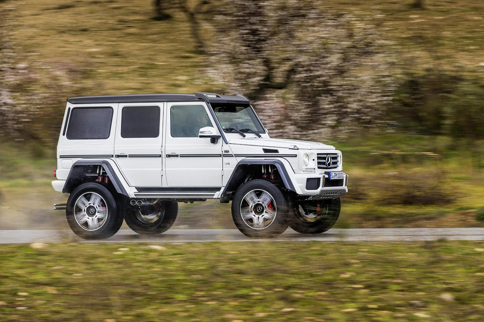 mercedes benz g500 4x4 price announced it s more than a