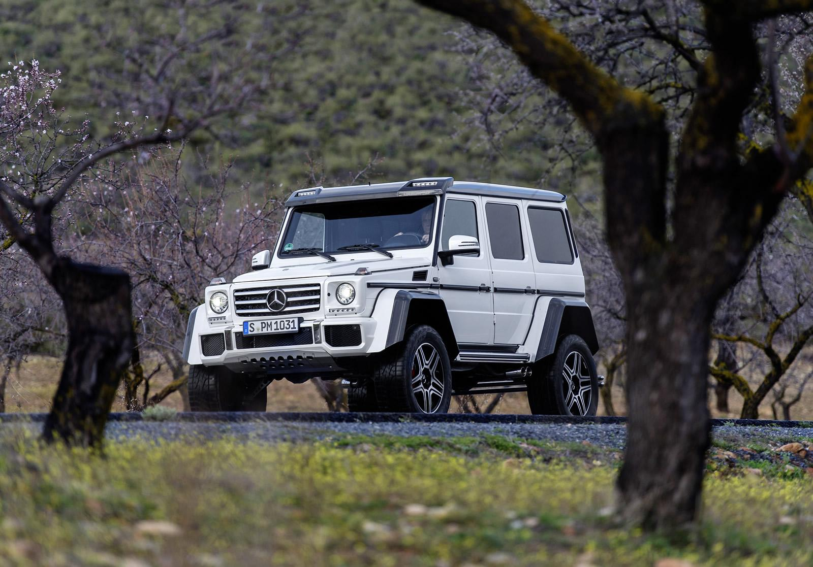Mercedes-Benz G500 4x4² Price Announced, It's More than a ...