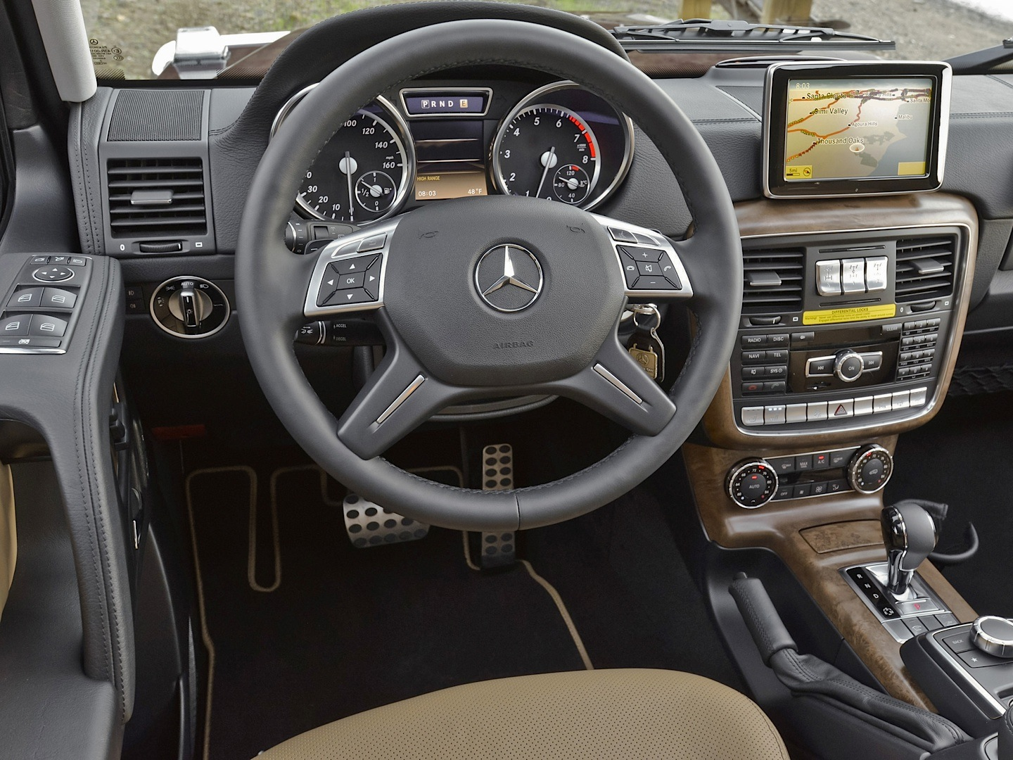 Mercedes benz g550 real suv review by autoweek for 2017 mercedes benz g550 interior