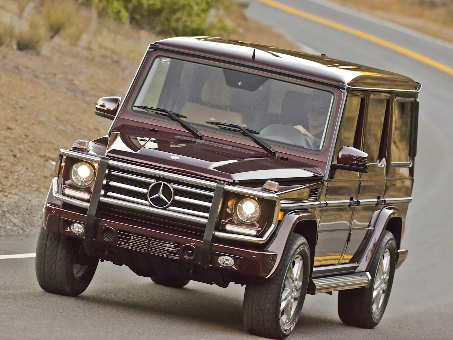Mercedes Benz G550 Real Suv Review By Autoweek