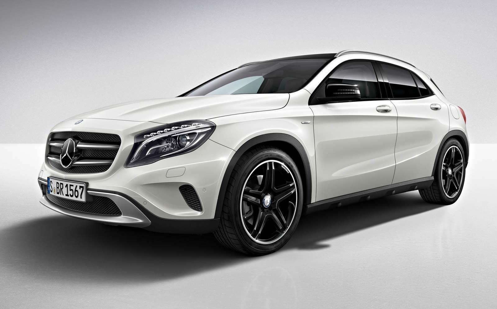 Mercedes benz gla edition 1 launched autoevolution for All mercedes benz models