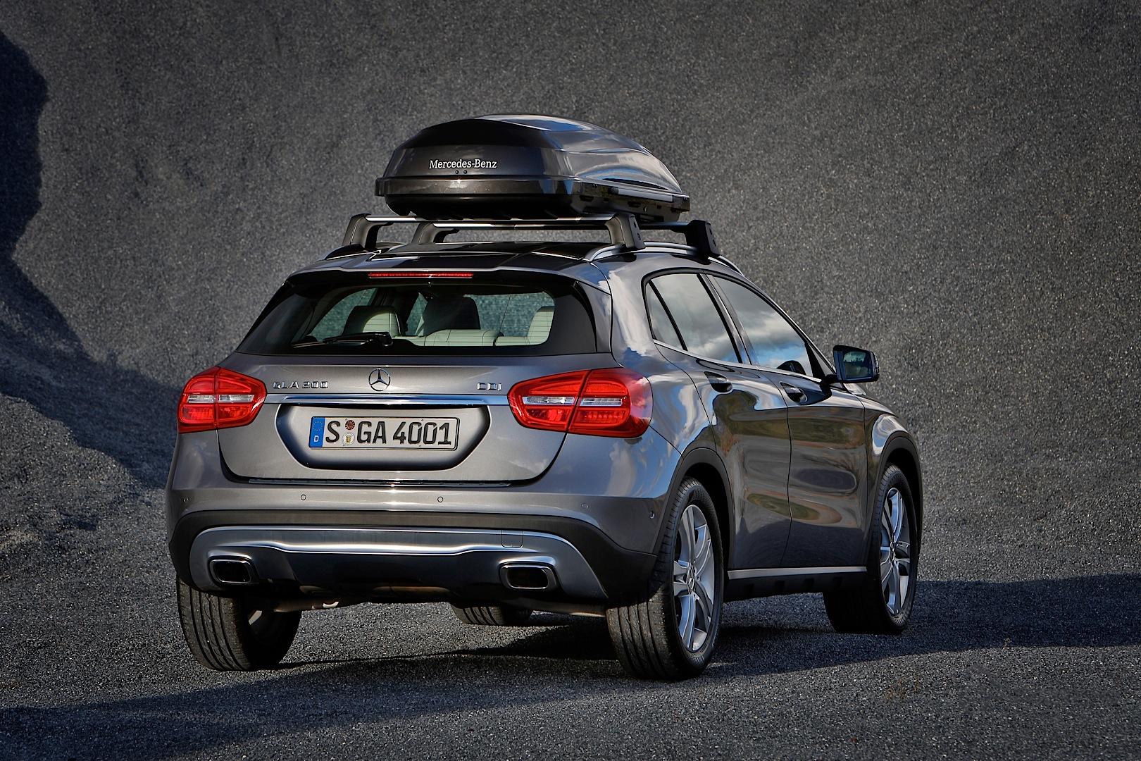 Mercedes benz gla gets new accessories autoevolution for Mercedes benz usa accessories