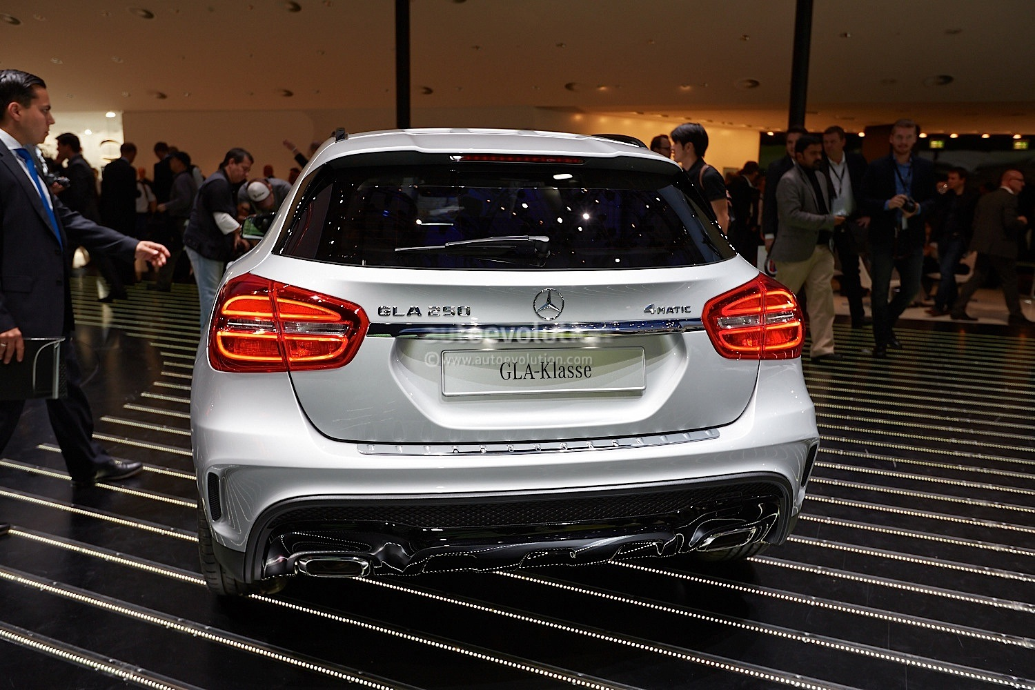Mercedes-Benz GLA Looks Even Better in Person [Live Photos]