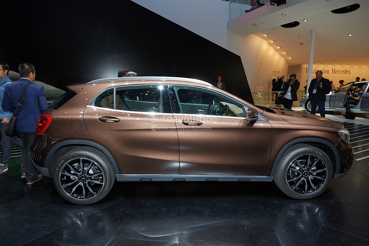 Mercedes Benz Gla To Receive Better Off Road Package In