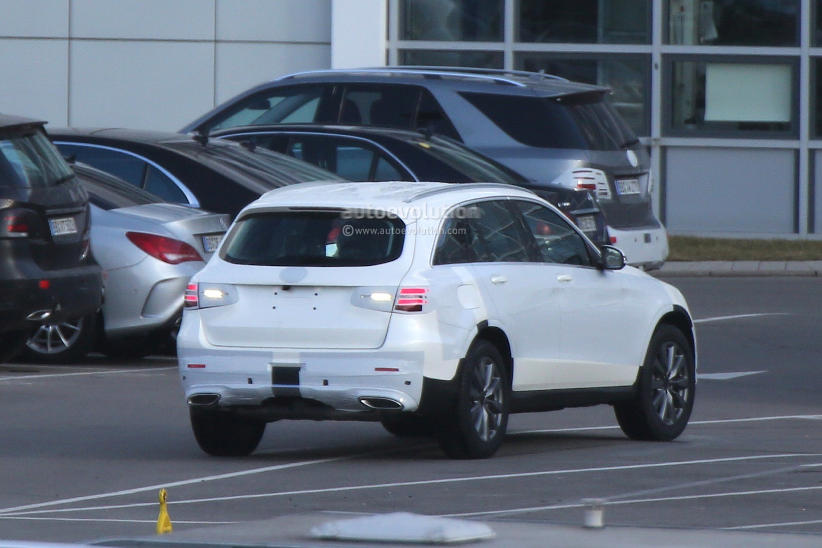 Audi Latest Models >> Mercedes-Benz GLC Spied With Minimal Camouflage, Including 450 AMG Sport Model - autoevolution