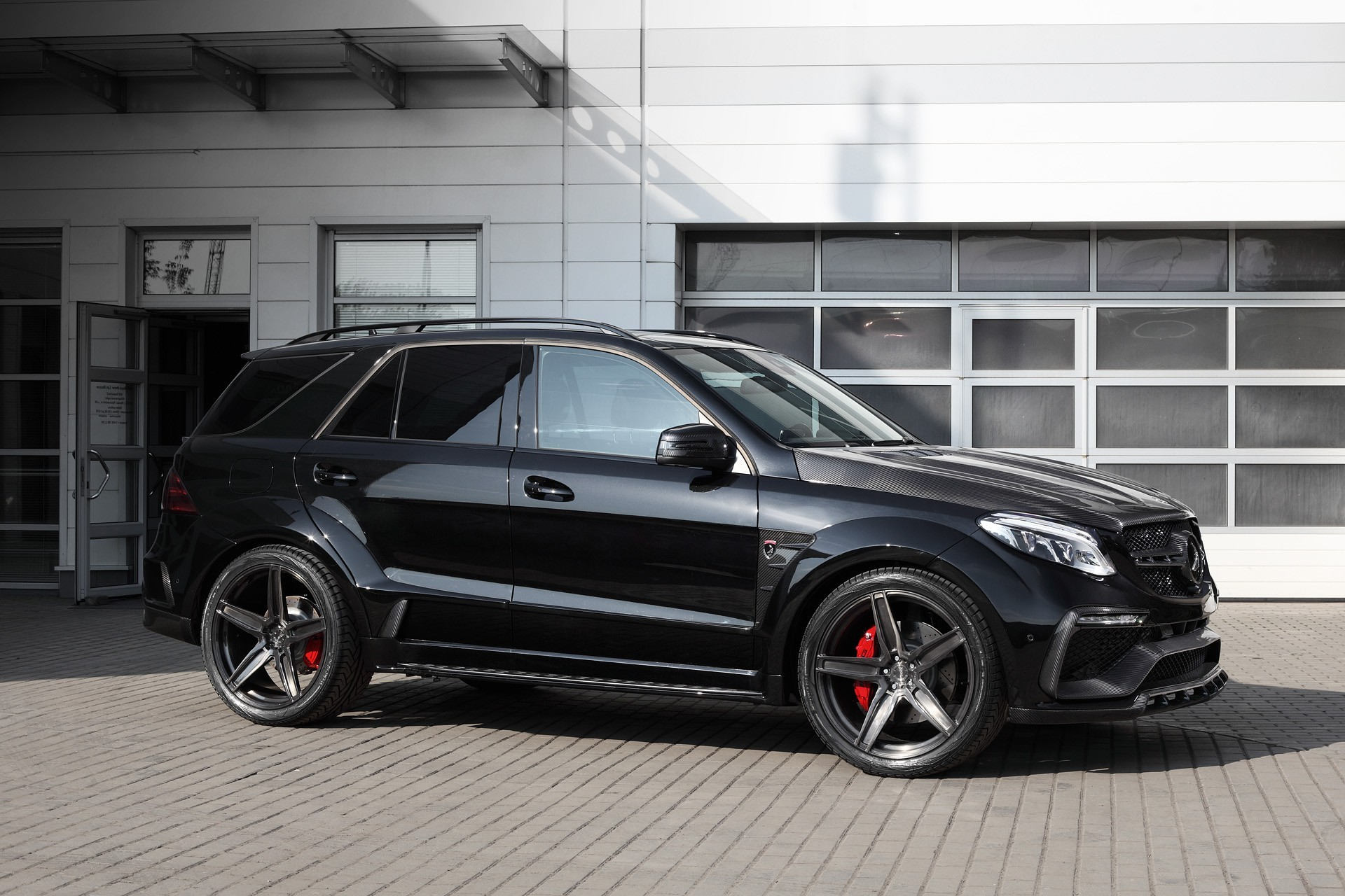 Mercedes Benz Gle 63 Gets Inferno Tuning Kit From Topcar