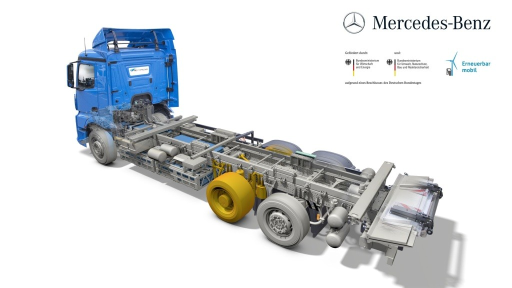 Mercedes-Benz Introduces the eActros, a 200 KM Heavy-Duty Electric Truck - autoevolution