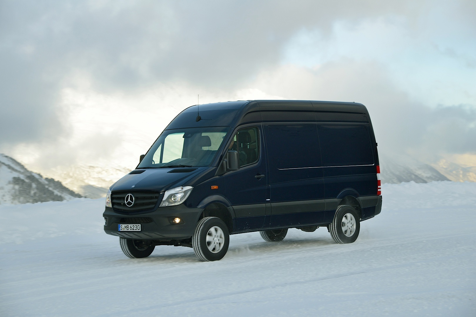 mercedes benz sprinter 4x4