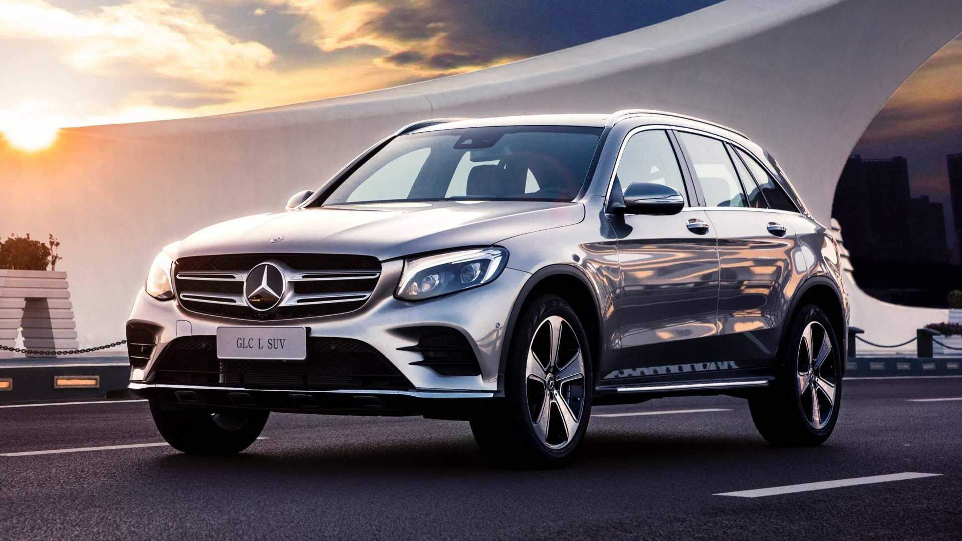 mercedes benz launches long wheelbase glc l in china. Black Bedroom Furniture Sets. Home Design Ideas