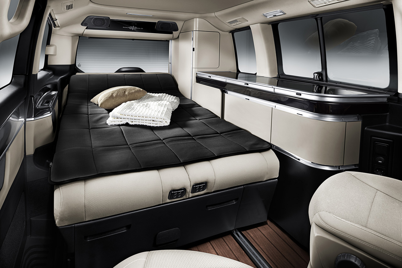 Mercedes-Benz Marco Polo Combines Luxury With Camping Practicality - autoevolution
