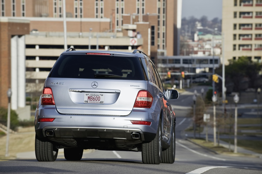 Mercedes-Benz ML 450 Hybrid to Star in New York - photo gallery
