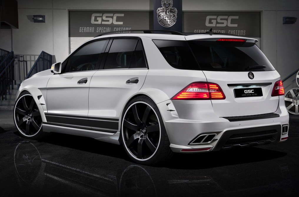 Mercedes Benz Ml Typhoon By German Special Customs