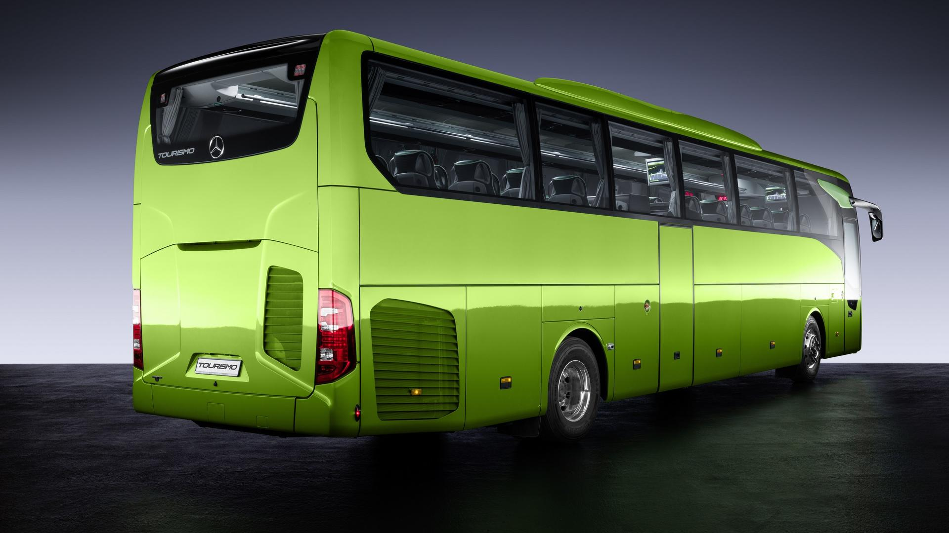 Mercedes-Benz Modernizes Coach Lineup With All-New ...