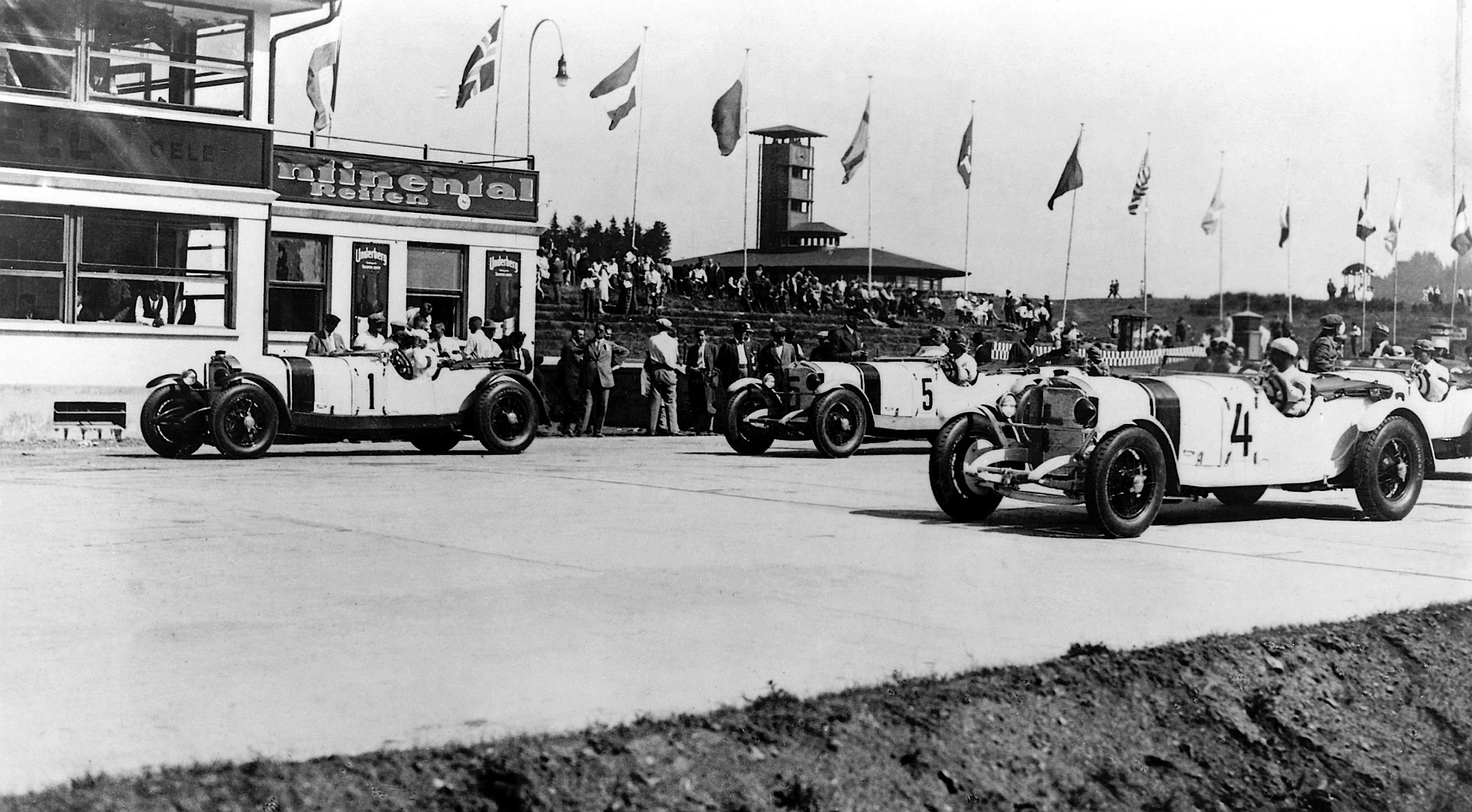 Mercedes benz motorsport history detailed in new tv series for Mercedes benz history
