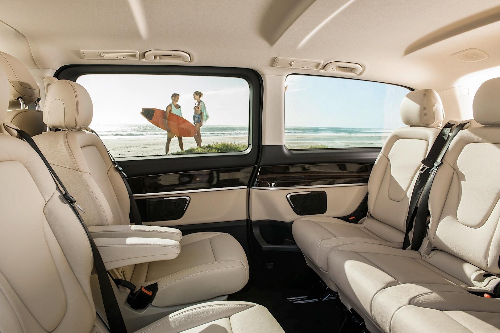 Mercedes Benz Officially Reveals 2015 V Class Autoevolution