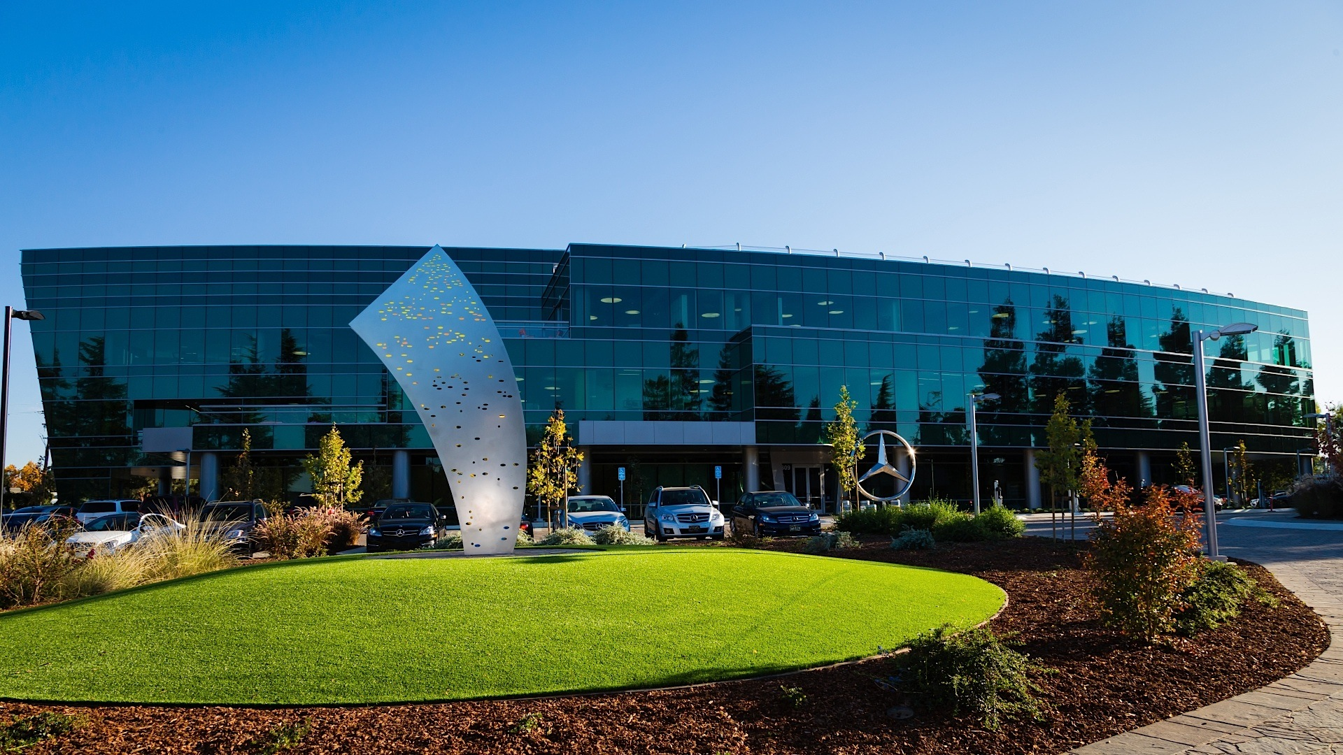 Mercedes Benz Opens New Headquarters And R Amp D Center In