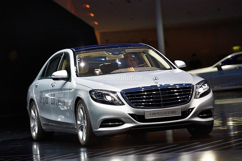 Mercedes Benz S 500 Plug In Hybrid Unveiled At Frankfurt