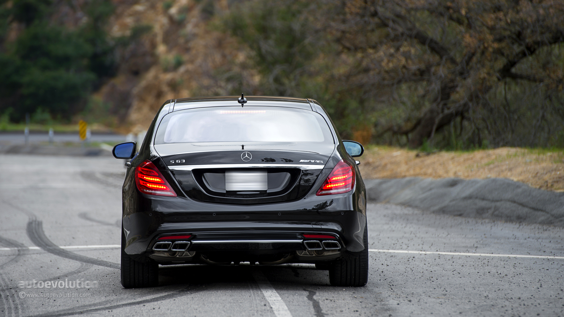 Mercedes Benz S 63 Amg 4matic Tested By Autoevolution
