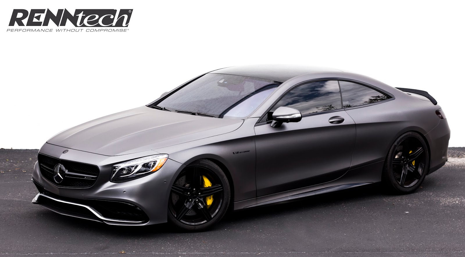 Mercedes amg s 63 coupe gets tuning package from renntech for Mercedes benz packages