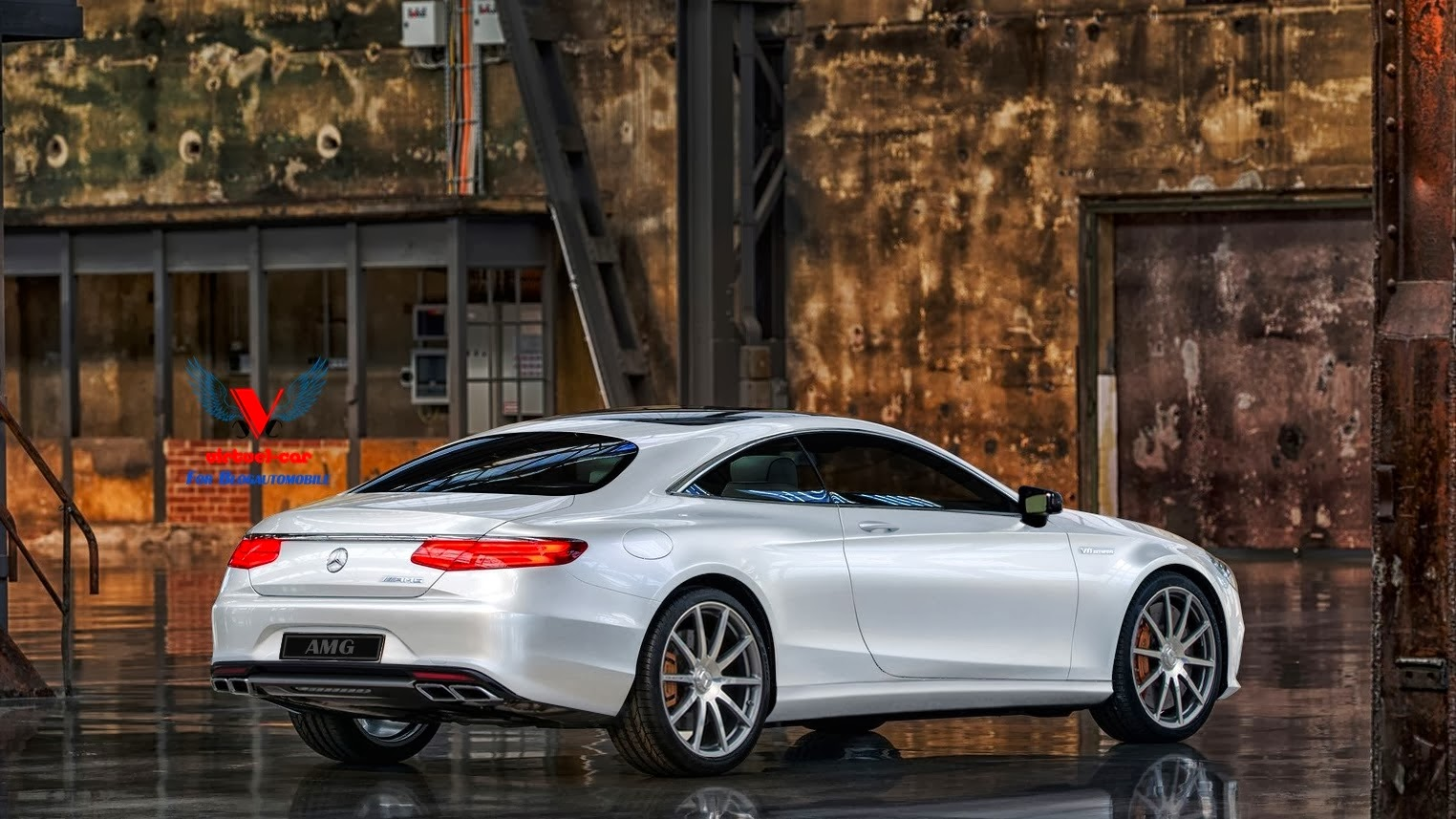 Mercedes Benz S 63 Amg Coupe C217 Gets Rendered