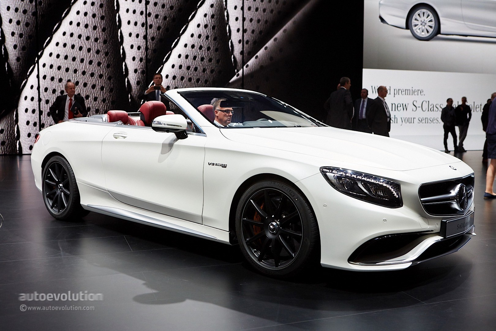 Mercedes Benz S Class Cabriolet And S63 Cabriolet Are The
