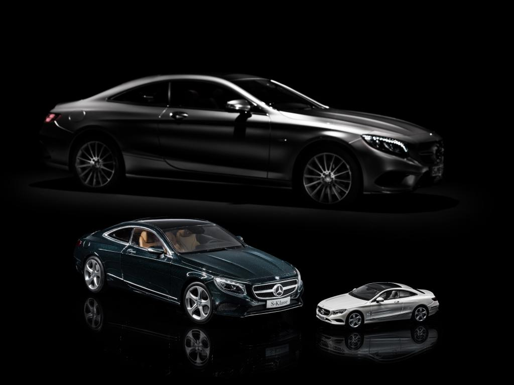 Mercedes benz s class coupe gets shrunk by norev and for Mercedes benz s class models