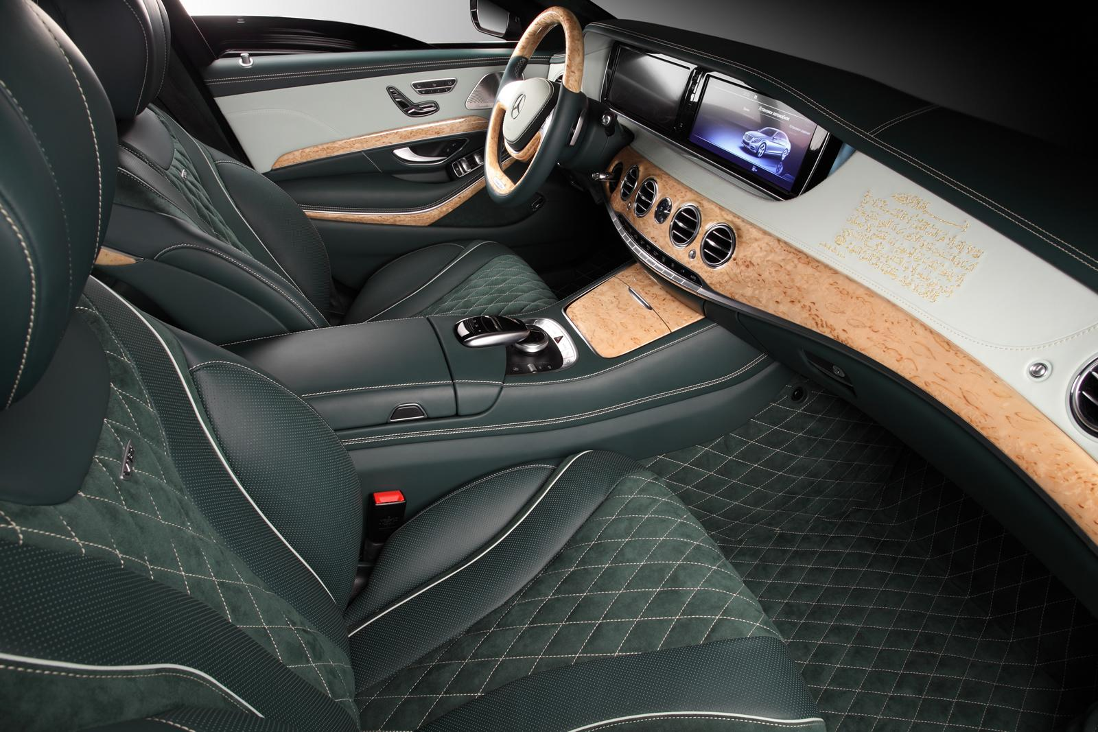 Mercedes Benz S600 Guard Interior Becomes Arab Story Via
