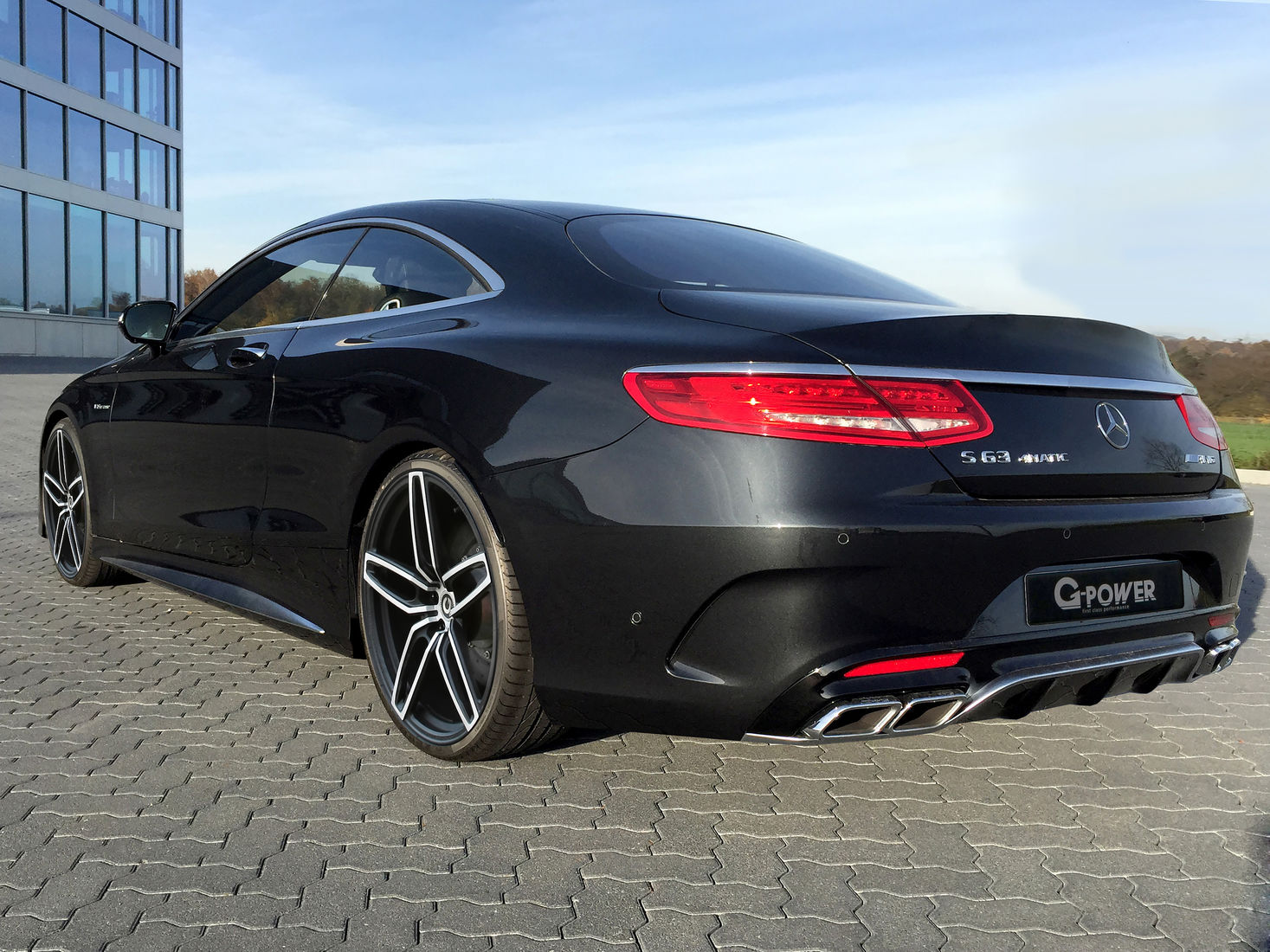 Mercedes S63 Amg Coupe >> Mercedes-Benz S63 AMG Coupe by G-Power Makes 705 HP ...