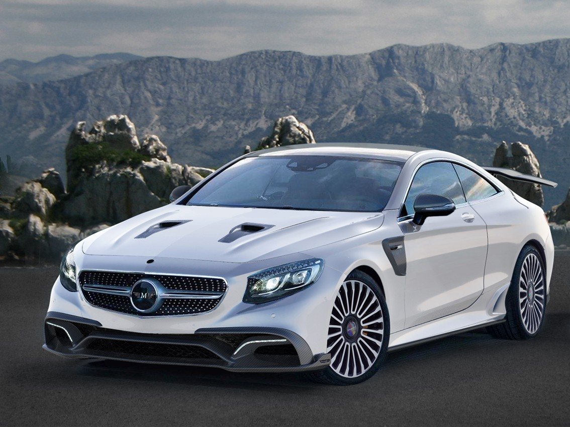 Mercedes benz s63 amg coupe by mansory is one of the for Autos mercedes benz