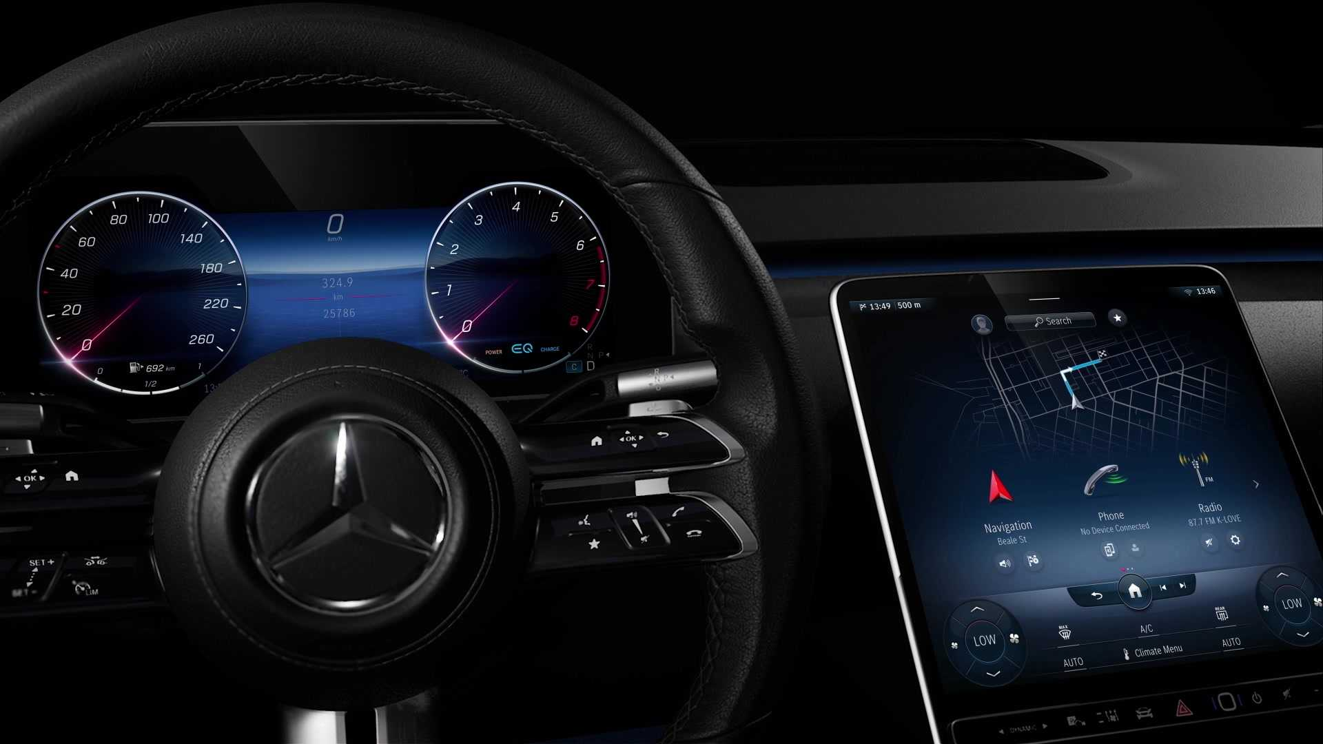 Mercedes-Benz Shines the Ambient Spotlight on the 2021 S ...