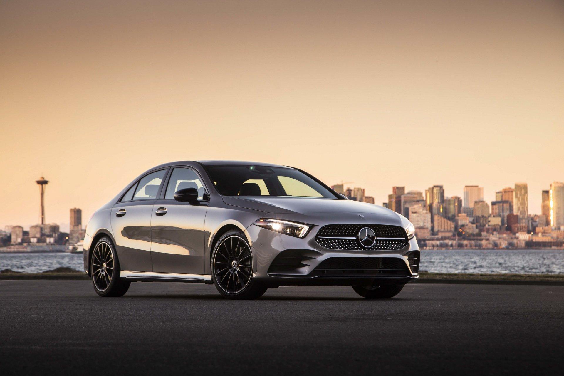 Mercedes-Benz Showcases 2019 A-Class Sedan For U.S. Market