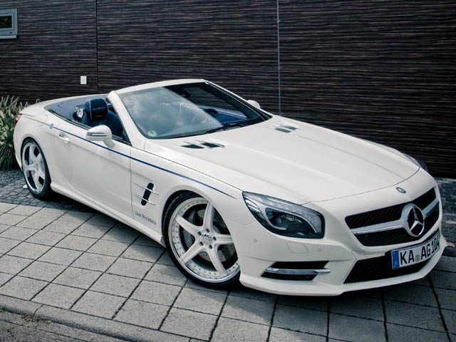 Mercedes Benz Sl 500 By Graf Weckerle Autoevolution