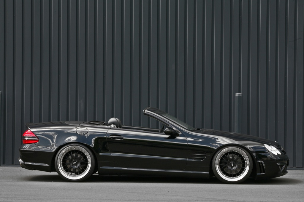 mercedes benz sl 500 in the body of a sl 65 amg autoevolution. Black Bedroom Furniture Sets. Home Design Ideas