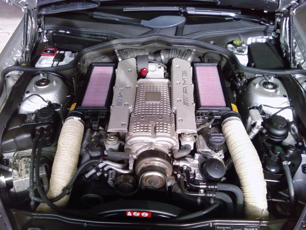 Automotive Car Parts >> Mercedes-Benz SL55 AMG Gets Multiple Tweaks - autoevolution