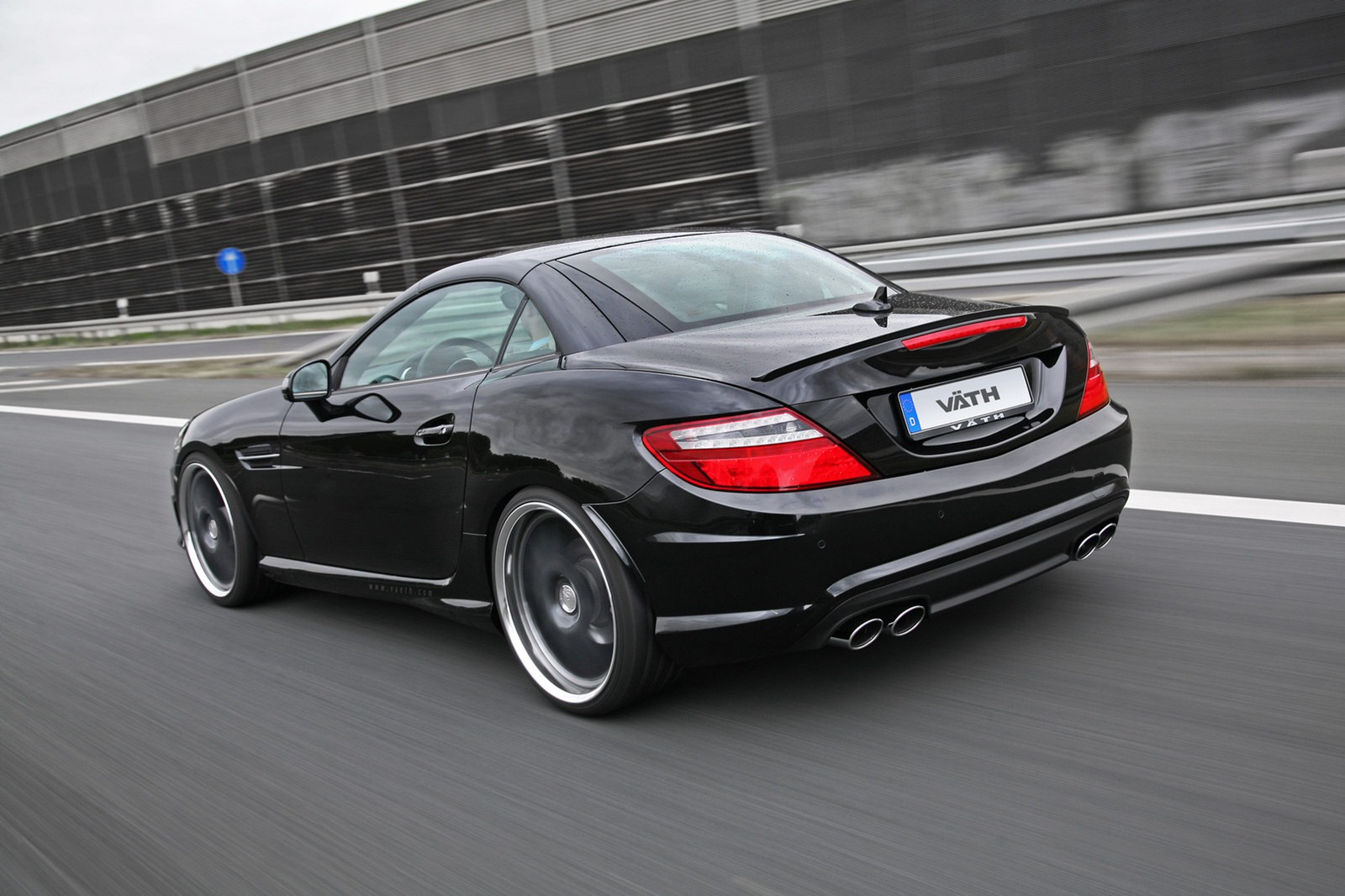 Mercedes Benz Slk 350 Tuning By Vath Autoevolution
