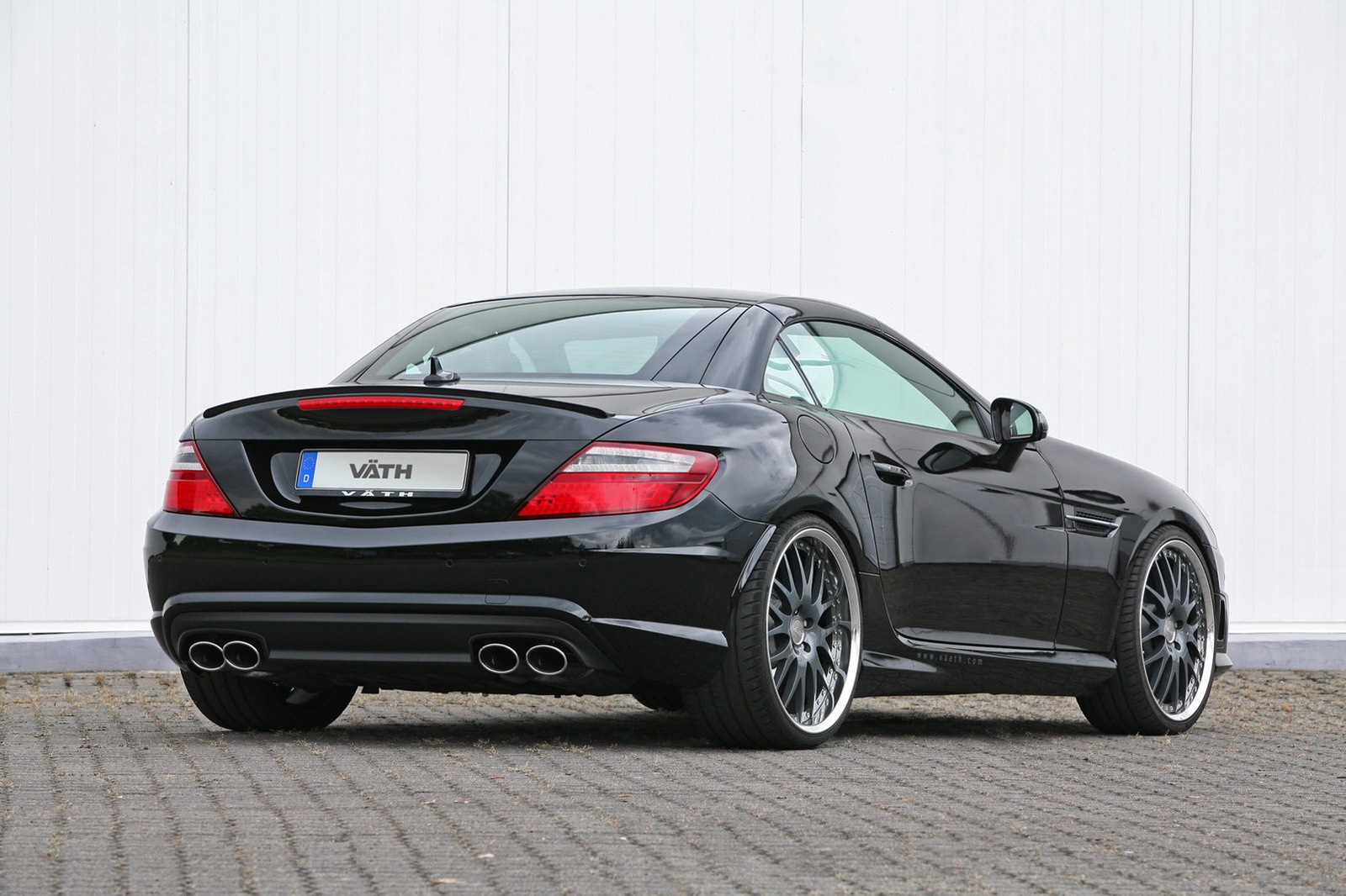 mercedes benz slk 350 tuning by vath autoevolution. Black Bedroom Furniture Sets. Home Design Ideas