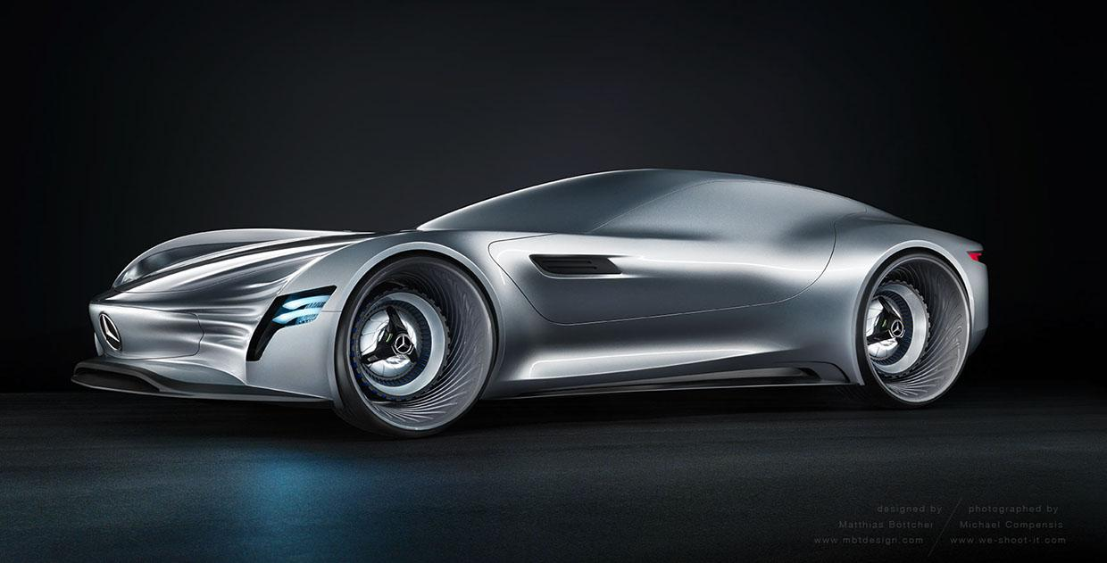 Mercedes Benz Sl Pure Concept Is The Modern