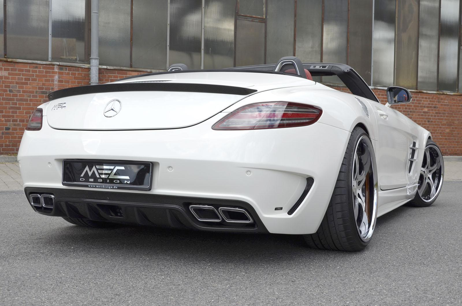 mercedes benz sls amg roadster by mec design autoevolution. Black Bedroom Furniture Sets. Home Design Ideas