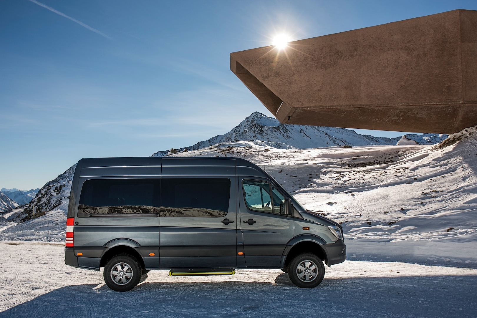 Mercedes Benz Sprinter 4x4 Is On Its Way To The United