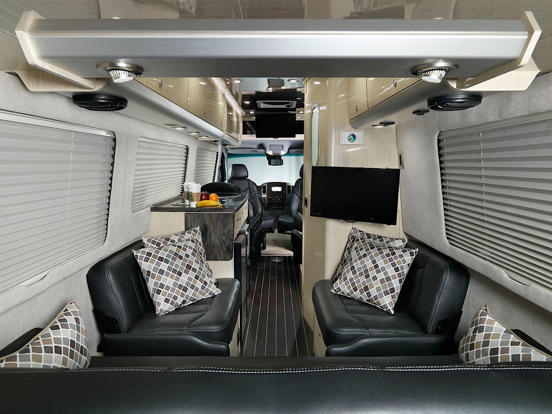 Mercedes-Benz Sprinter-Based Airstream Motorhome Arrives ...