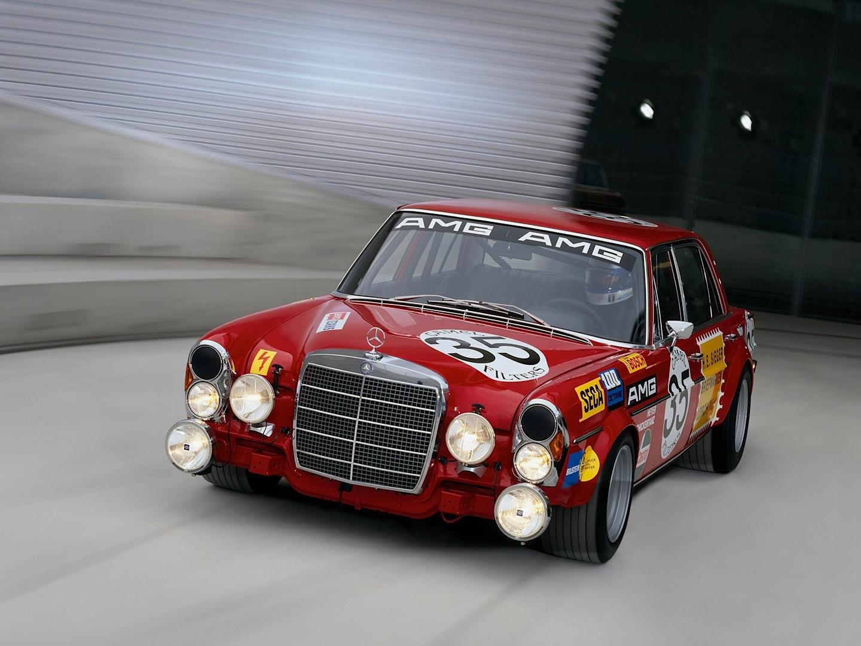 Mercedes Benz Red Pig