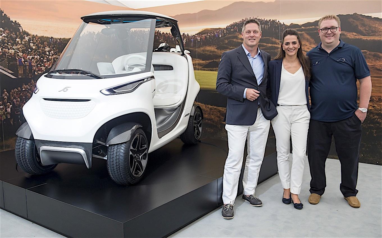 Garia Lsv Luxury Golf Car Goes Street Legal Autoevolution