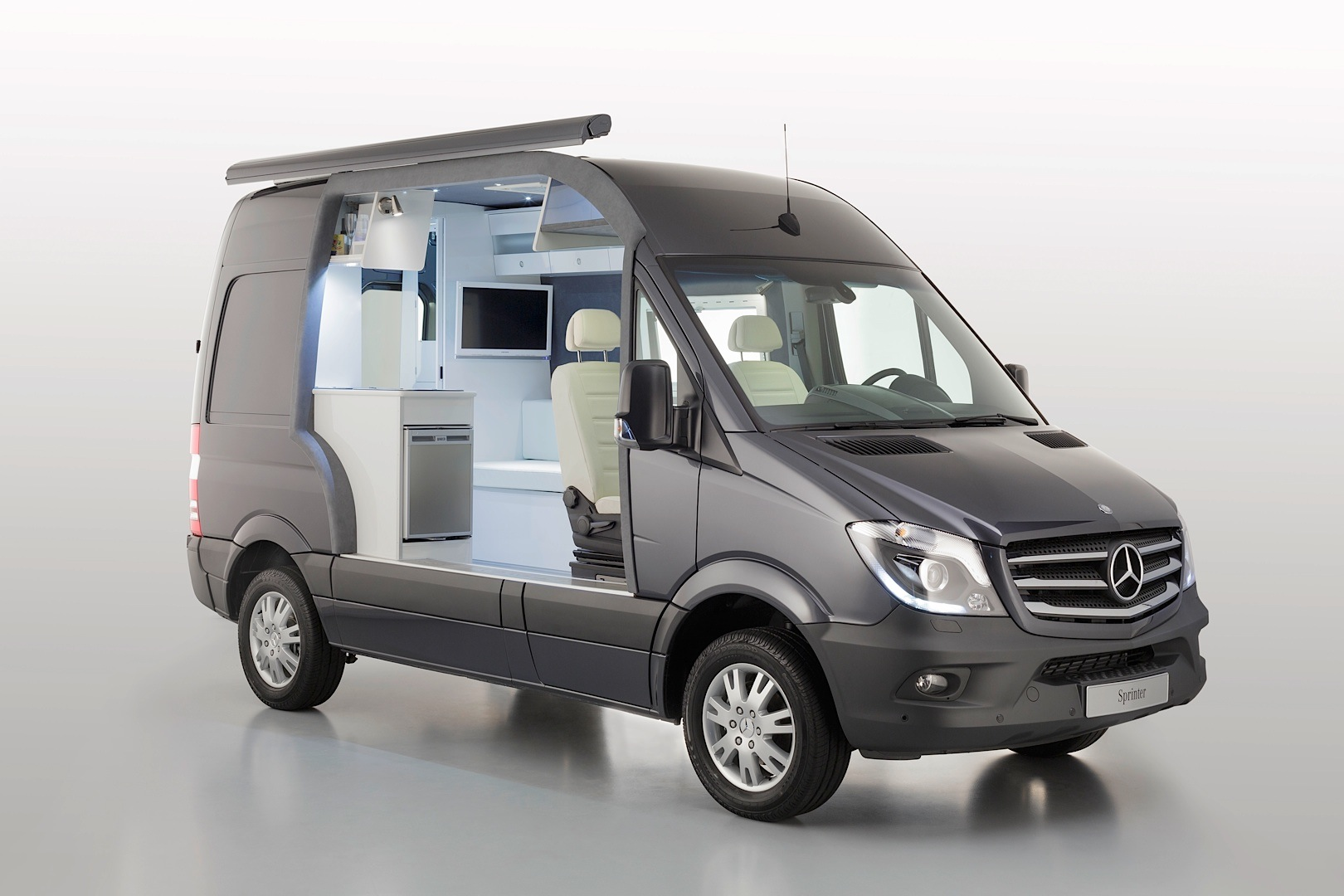 mercedes benz takes over the 2013 caravan salon