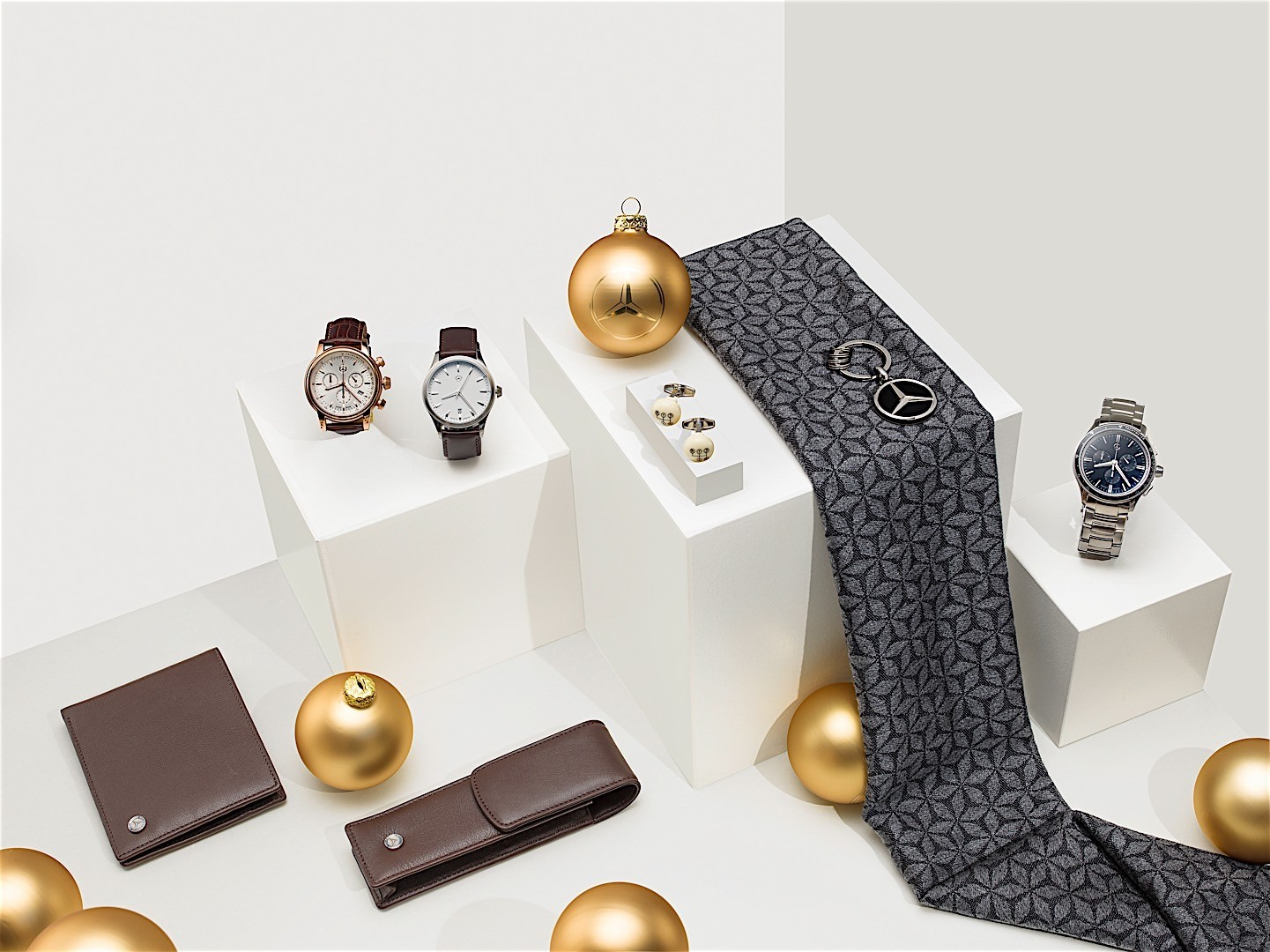 Mercedes benz tempts santa with a selection of gift ideas for Mercedes benz accessories online